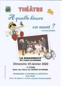 Afffiche théâtre Colombiers 001