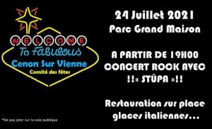 ANNULE : Concert parc de Grand maison - Parc de Grand maison